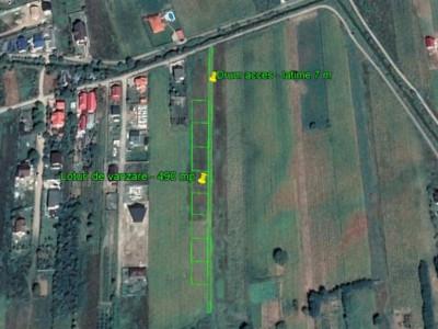 Șerbănești - zonă cu vile - teren pentru casă - 490 mp - 11.500 EUR