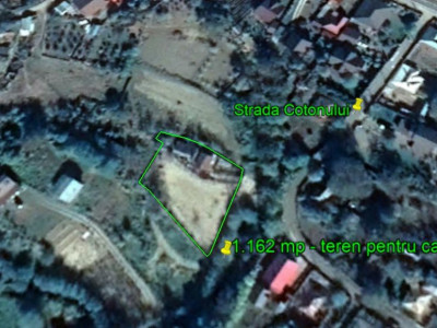 Calea Moinești -teren pentru casă -1.162 mp-zonă liniștită-ieftin
