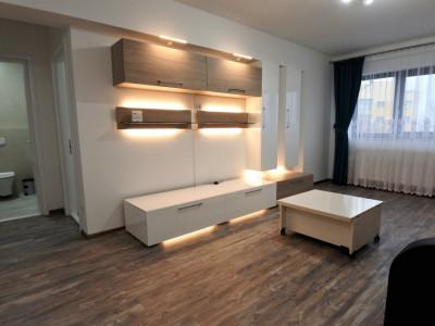 Bloc nou - central - 2 camere decomandate - mobilat și utilat - primul chirias