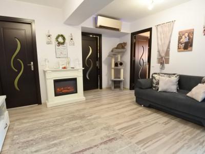 Bloc 2014-Vadul Bistritei-etajul 2-apartament 3 camere-mobilat-utilat-renovat