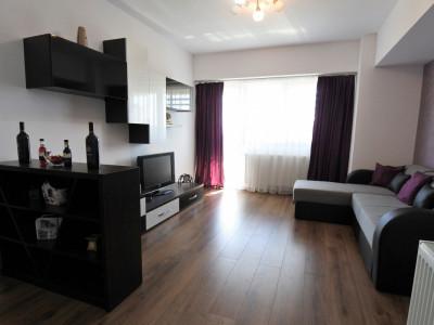 Unirii - bloc nou - apartament 2 camere decomandate - mobilat si utilat complet
